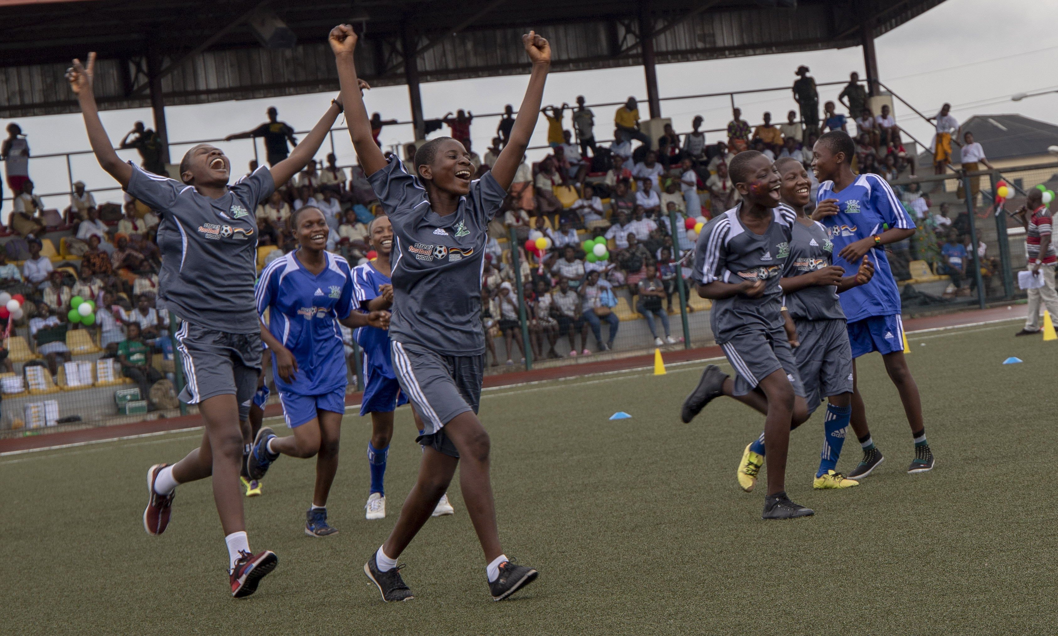 Changing the game for girls in Nigeria | streetfootballworld