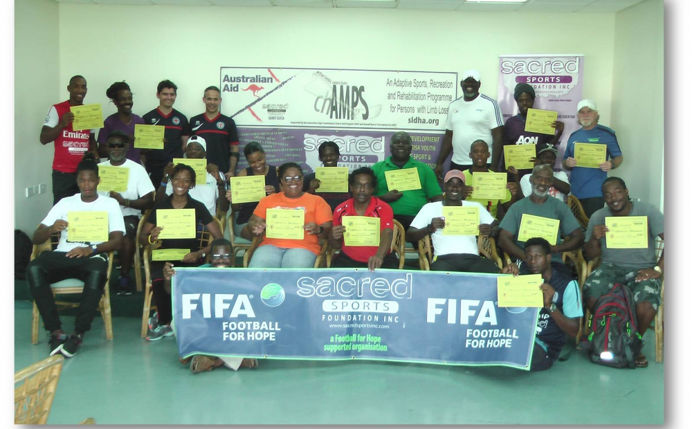 Sacred Sports Foundation promotes sports opportunities for